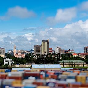 Aussicht von conakry