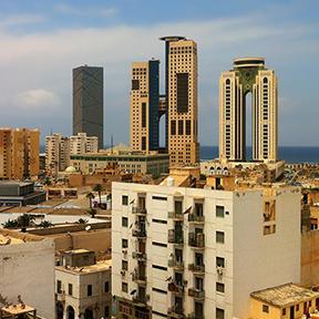 Luftaufnahme von Tripolis