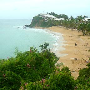 Bild eines Strands
