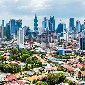 Wolkenkratzer in Panama City