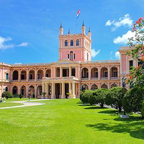 Präsidentenpalast in Asuncion