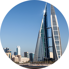 Gebäude in Bahrain