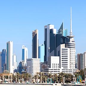 Skyline der Kuwait-Stadt