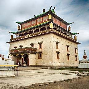 Gandan-Kloster in ulan bator