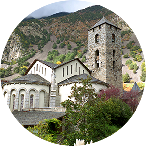 Turm in Andorra