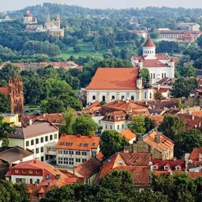 Blick auf Litauen