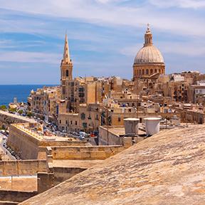 Kuppeln und Dächer von Valletta