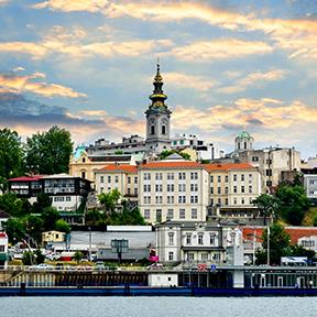 Belgrad Stadt an der Donau