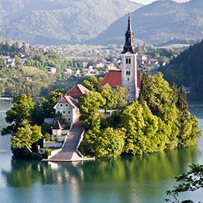 Burg in Slowenien