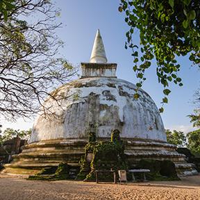 Kiri Vehera Dagoba in Polonnaruwa