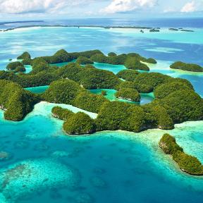 70 Insel in Palau