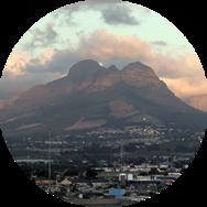 Berg in Südafrika