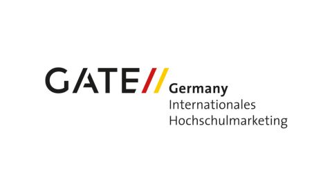 Logo: GATE Germany Internationales Hochschulmarketing - Link öffnet in neuem Fenster.