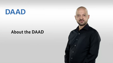Text: About the DAAD